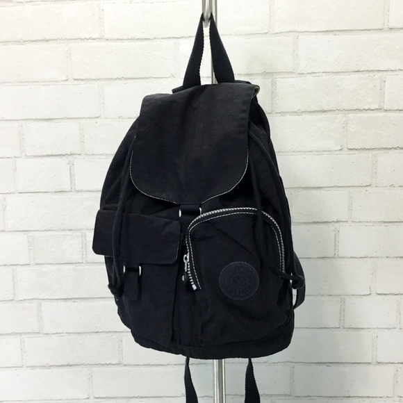 Kipling Handbags - Kipling Mini Backpack 🎒 Black Nylon Backpack EUC cc2ff60873903